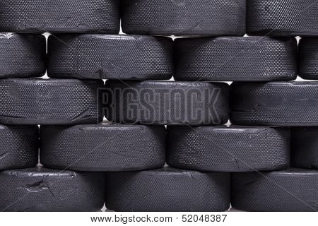 Wall Of Pucks