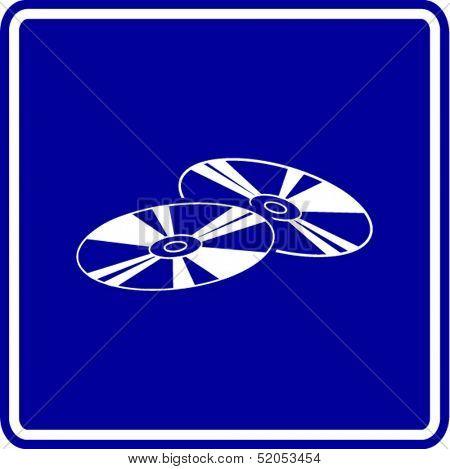 optical discs sign