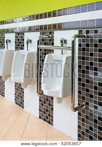 Porcelain Urinals For Cripple And Old People