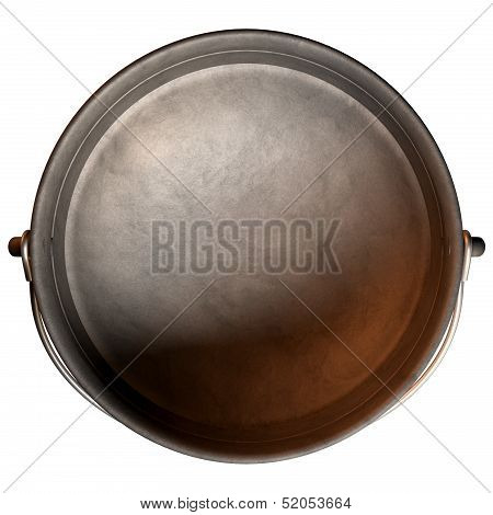 South African Potjie Pot Top Empty