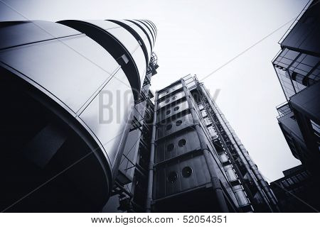 London - September 21: The Lloyds Building on September 21, 2013