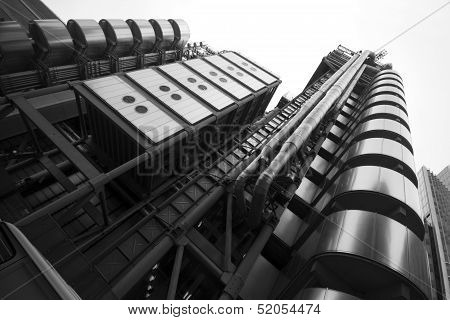 London - September 21: The Lloyds Building Pictured On September 21, 2013, During Open House