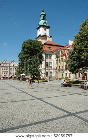 Marketplace In Jelenia Gora City