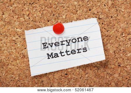 Everyone Matters