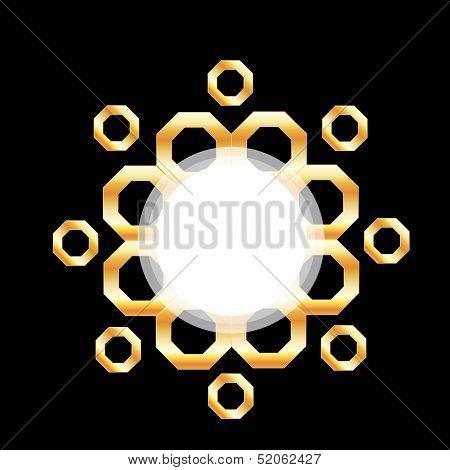 Metallic design element