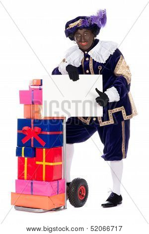 Zwarte Piet With Presents