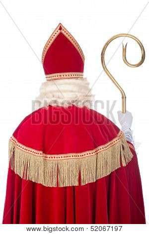 Sinterklaas From The Back