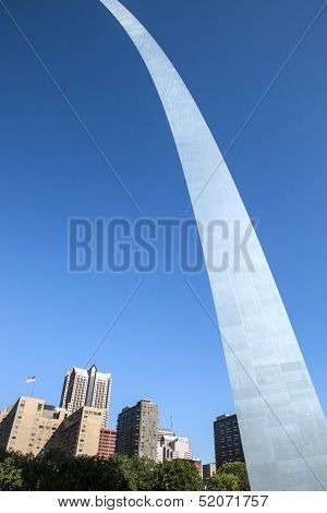 St. Louis and the Gateway Arch