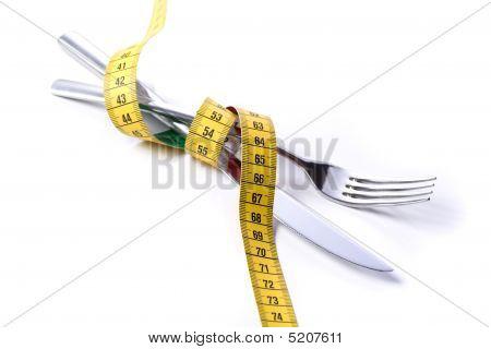 Fork Knife Tapemeasure