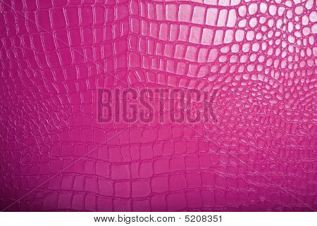 Texture Of Pink Leather