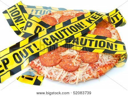 Unhealthy Food Caution