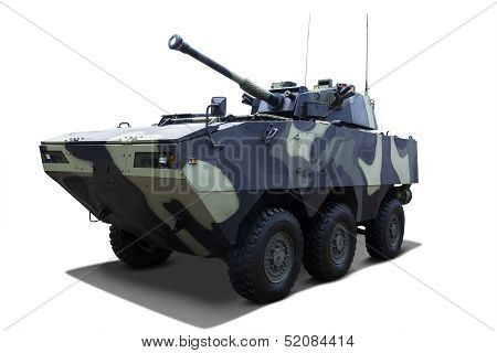 Army Tank Isolated