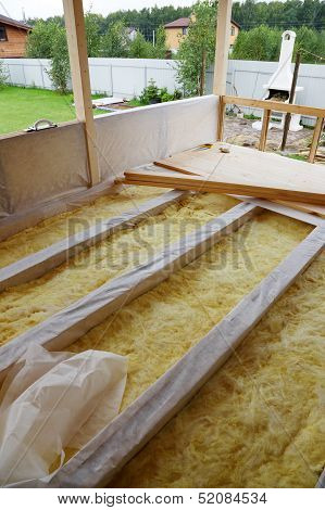 Wooden Floor With Insulation
