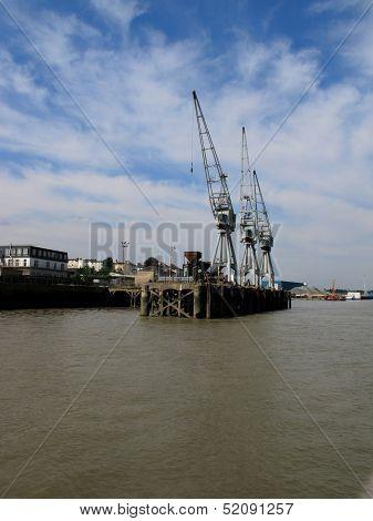 Riverside Cranes