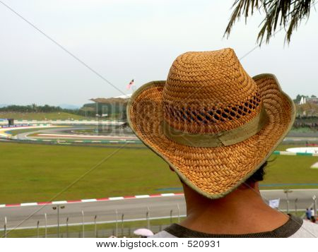 Hat On Spectator