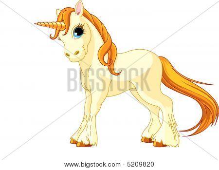 Standing Unicorn
