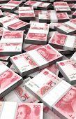 pic of yuan  - Stack of Yuan  - JPG
