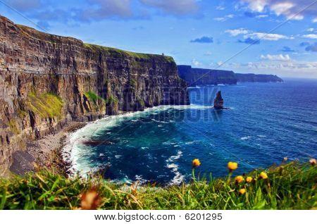 Capture Of A Breathtaking Natural Nature Landscape