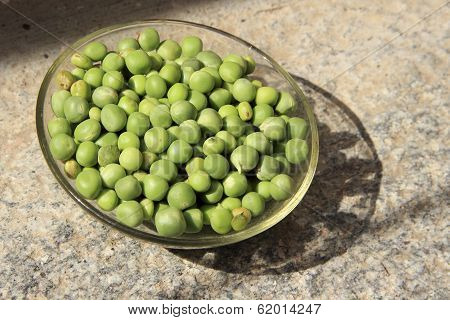 Dish Of Green Peas