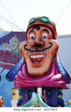 Merry-go-round doll