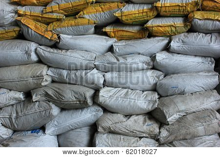 Sand Sack protecting flood