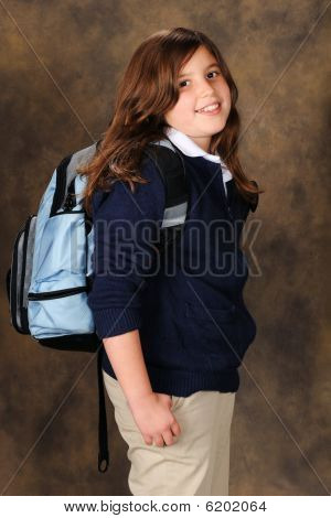 Preteen Student
