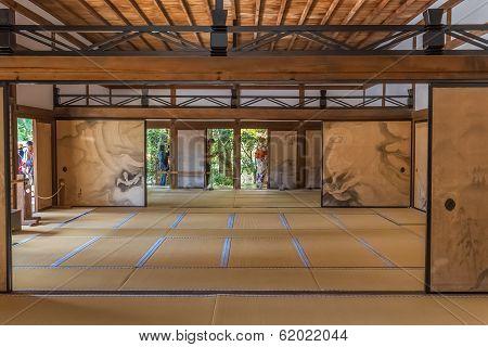 Hojo at Ryoanji Temple in Kyoto