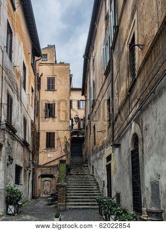 Street Scene From Rome, Italy