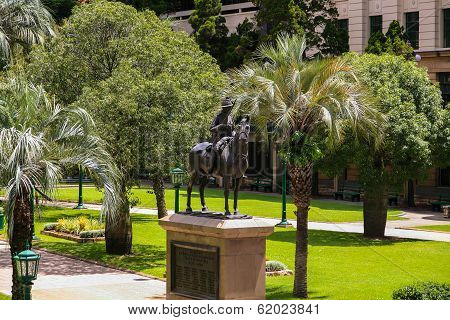 Boer War Memorial, Anzac Square, Brisbane.