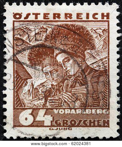 Vorarlberg Women Stamp