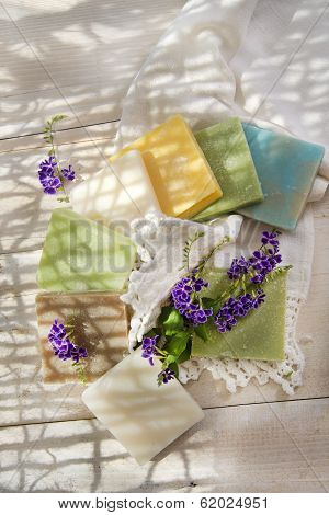 Colored Soap Flakes