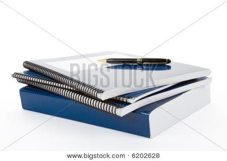 Livro azul escola