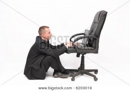 Sem mobília de escritório