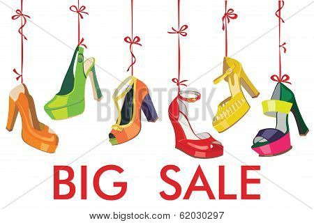 Colorful Fashion Women's  Shoes Hang On Ribbon.big Sale