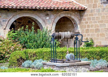 Well In Monastery Garden