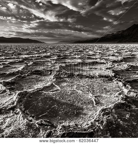 Dramatic Death Valley Landscape