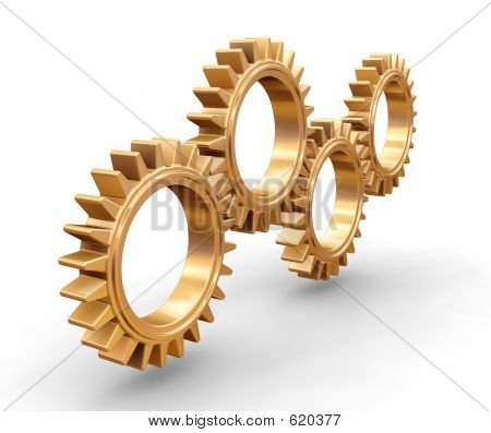 Interlocking Gears