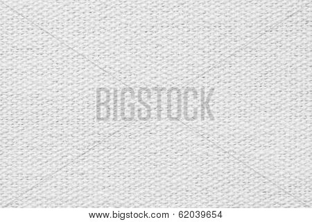 Pale Gray Coarse-grained Texture Of Rough Fabric