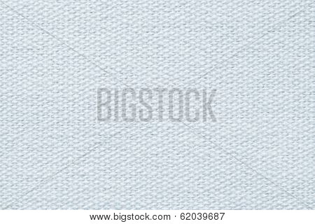 Pale Silvery Coarse-grained Texture Of Fabric