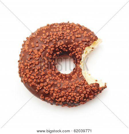 Bitten Doughnut
