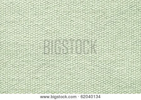 Pale Green Coarse-grained Texture Of Rough Fabric