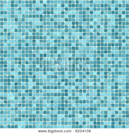 Small Green Tiles Texture