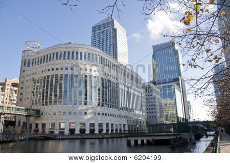 Canary wharf Wolkenkratzer in london