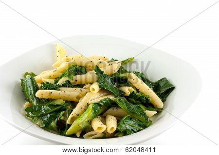 Penne Pasta And Spinach