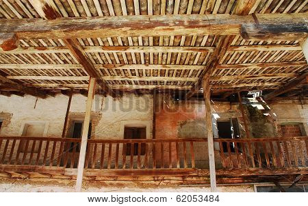 Derelict Wooden Agricultural Building