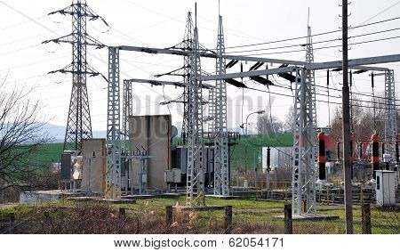 transformer and high voltage distribution stations