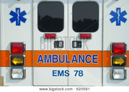 Back Of Ambulance