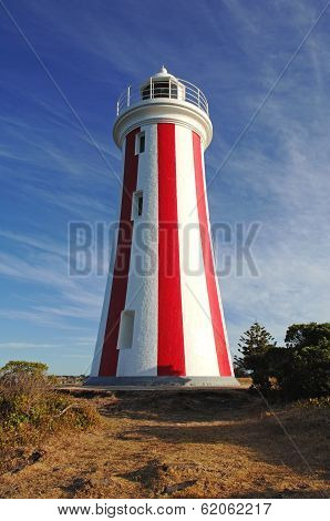 Mersey Bluff Lighthouse in Tasmania, Australia