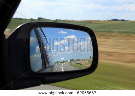Mirror Of A Car