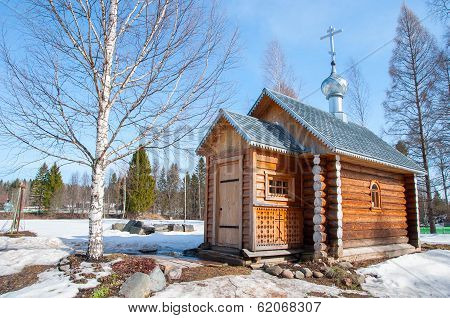 Pavlo Obnorski monastery chapel.